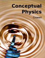 Ben Crowell's Physics Textbook