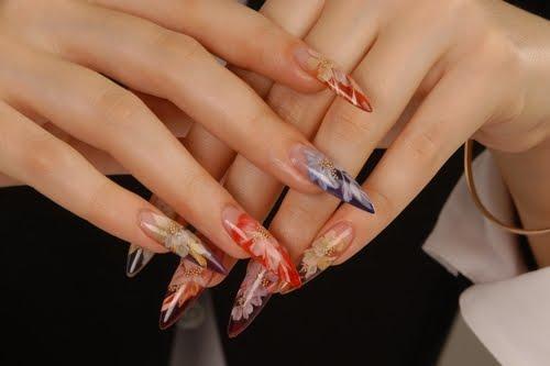 acrylic-nailart