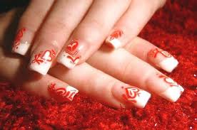 beauty nail art design