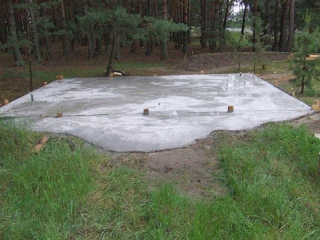Фундамент - вид спереди