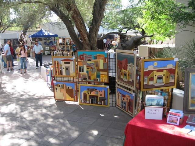 Sweet desert home tucson museum of art craft fair for Craft fairs in phoenix az