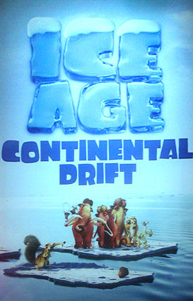 Ice Age 4 Continental Drift Movie Poster movie trailers