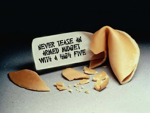 funny fortune cookie sayings. September 13th is FORTUNE