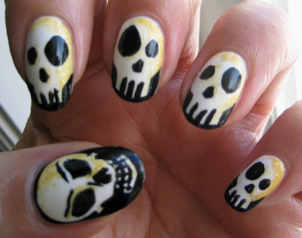 Halloween Nail Art
