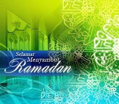 Selamat Menyambut Bulan Ramadhan Al-Mubarak