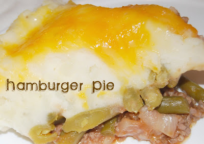 Hamburger Pie