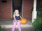 Raven & her pumpkin