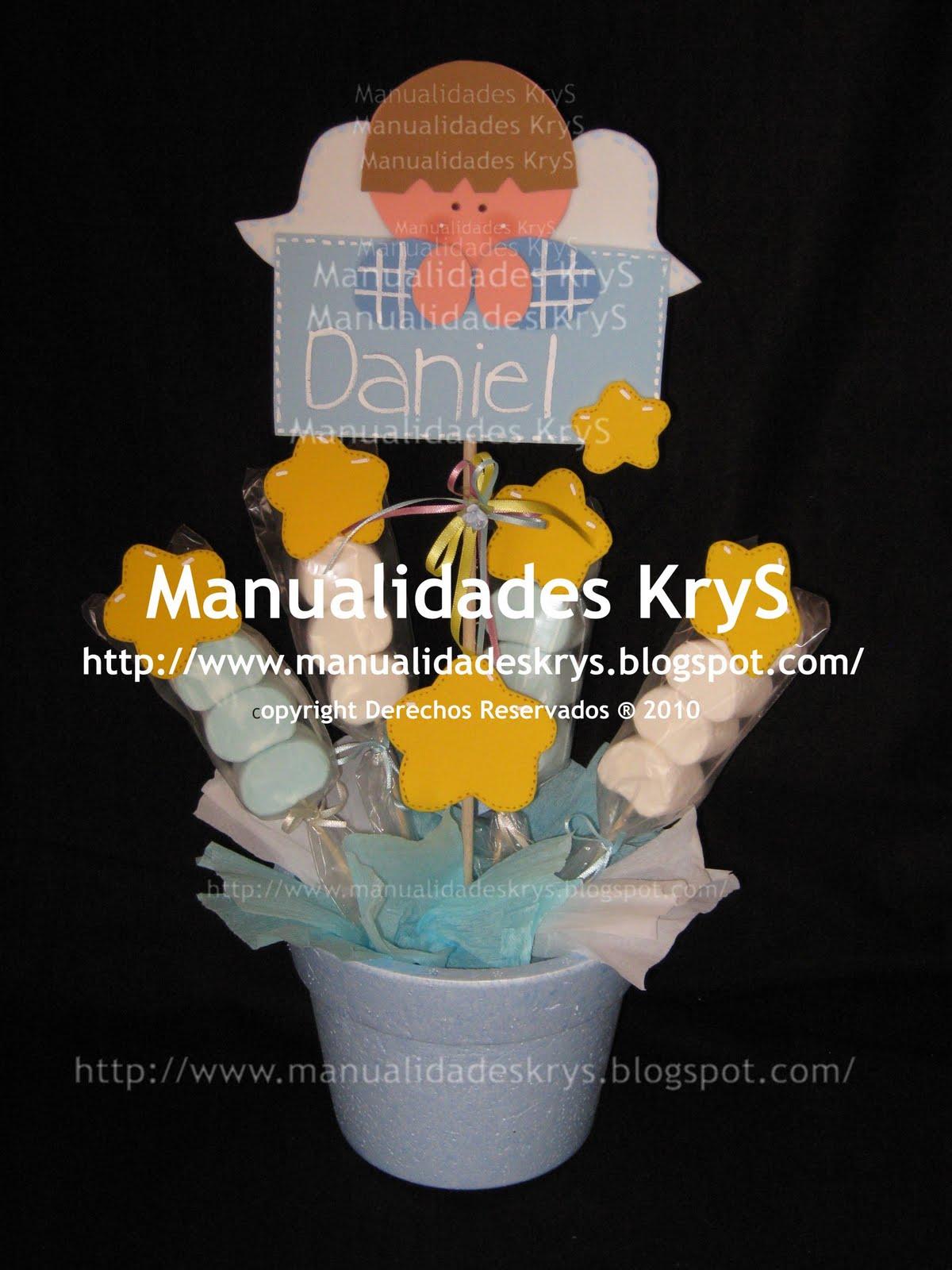 Manualidades KryS: PReSeNTaCión De TReS AñoS!!!