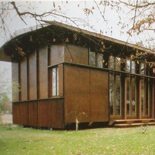 Arquitecturauno Casa Plywood Herzog De Meuron
