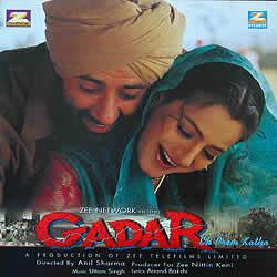 Gadar (2001) Movie Poster