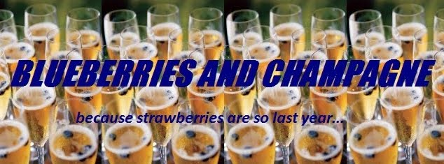 Blueberries and  Champagne