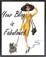 Wow, Melanie thinks my blog is fabulous!