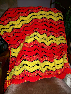 Printing Page Learn To Crochet a Baby Blanket or Lapghan Free Pattern