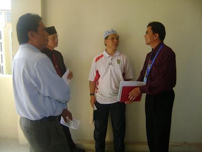 pertandingan esei 1 Malaysia di SK.Pekan Keningau 2 hari ini