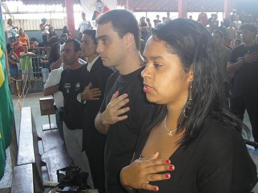 ABERTURA DO ESTADUAL COM HINO