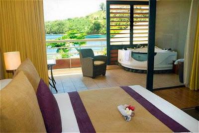 Tahiti traveler for Chambre de luxe avec jacuzzi