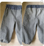 DIY Babybukser af aflagte jeans