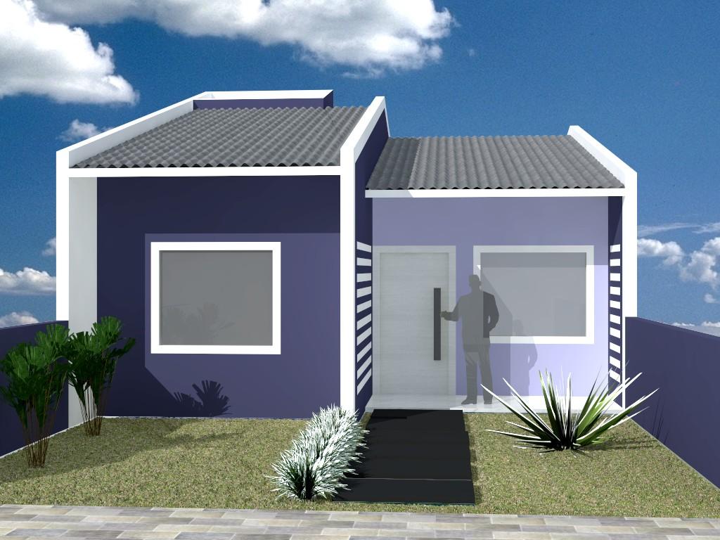 Giovani bisolo arquitetura fachada - Casas modernas economicas ...