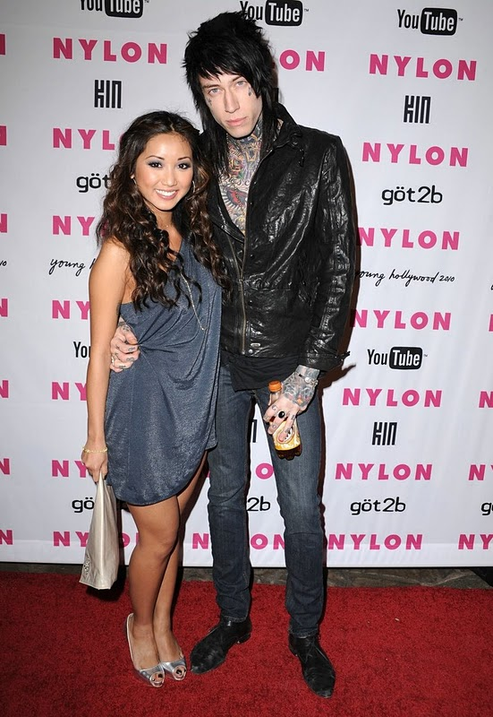 trace cyrus and brenda song