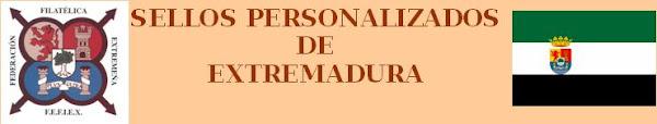 SELLOS PERSONALIZADOS DE EXTREMADURA