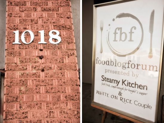 Gallery 1018, LA: the site of the Food Blog Forum by Steamy Kitchen and White on Rice Couple