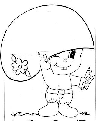 Cangaceiro FOLCLORE Desenhos para pintar para crianças