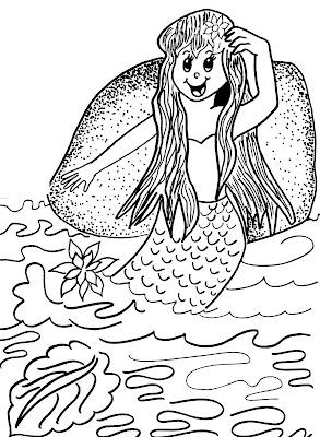 Iara FOLCLORE Desenhos para pintar para crianças