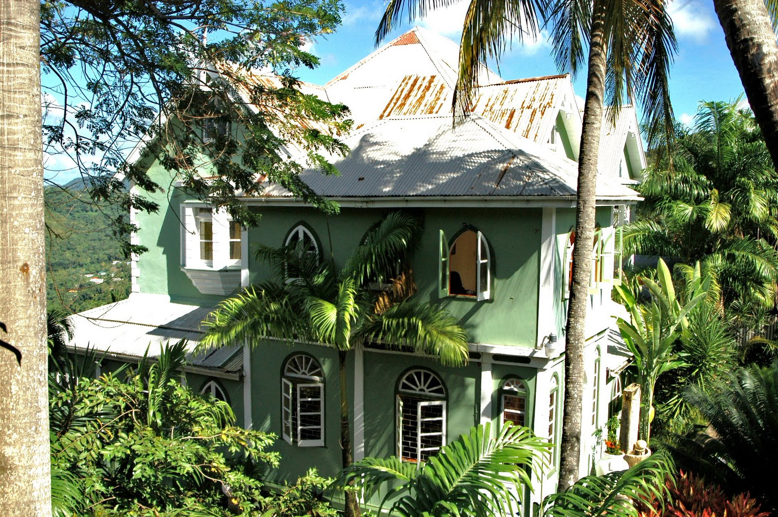 A Daily Victorian Caribbean Queen Anne Style Castries