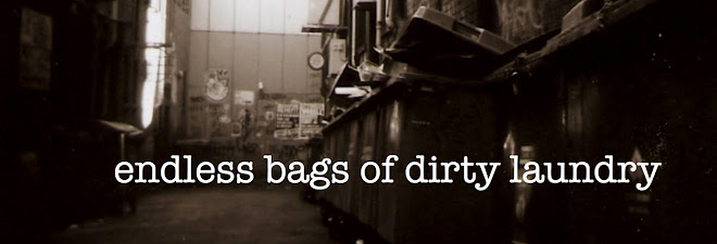 endless bags of dirty laundry