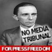 Joseph Goebbels ANC Media Tribunal Ministry of Public Enlightenment and Propaganda