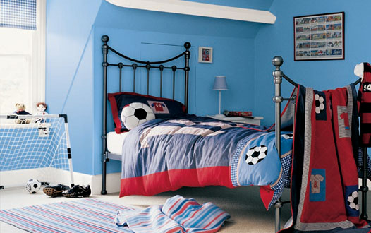 Kids room furniture blog kid room paint ideas wallpapers for Boys room blue paint