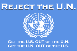 U.N. to Teach Americans How to Change their Behavior