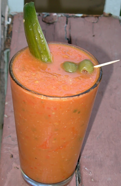From Kirsten's Kitchen to Yours: Roasted Tomato Bloody Mary Mix