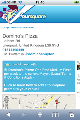 Foursquare Huyton Dominos Pizza
