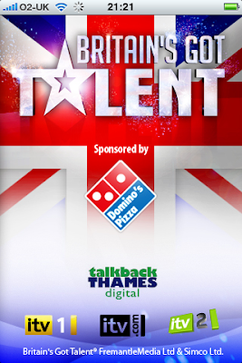 Britains Got Talent iphone