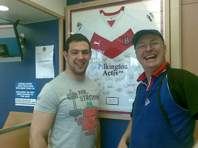 Mike Bennett St Helens Rugby League