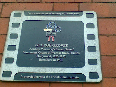 George Groves plaque