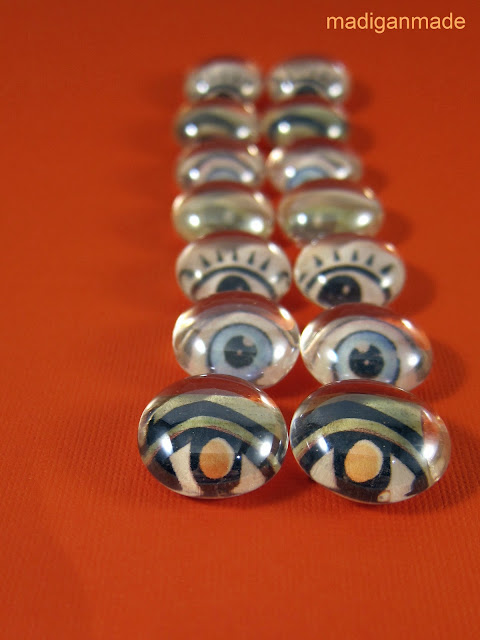 Simple and easy DIY glass eyeballs. Instructions at madiganmade.com