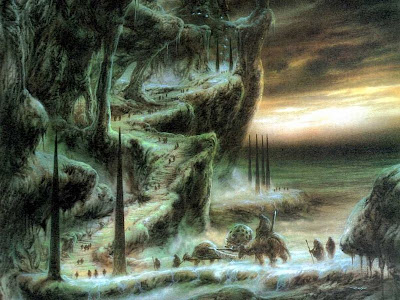 paisaje de mundo fantasia