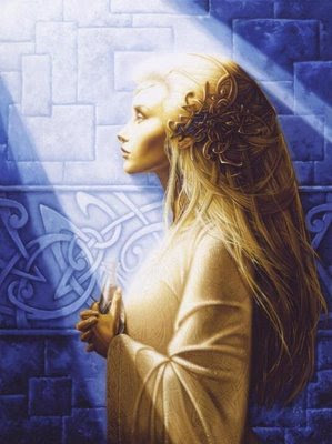 perfil de princesa elfa