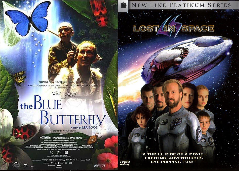 kék pillangó