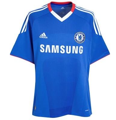 Uniformes Chelsea 2010 2011