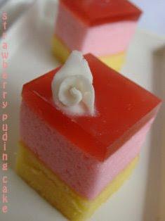 resepnya dari kelas puding cake ncc bbrp waktu yg lalu