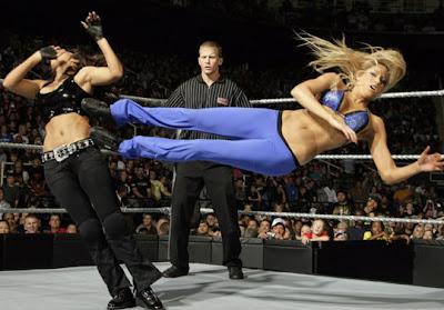 WWE Divas Dropkick ECW