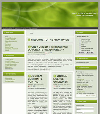 joomla 1.5 business template