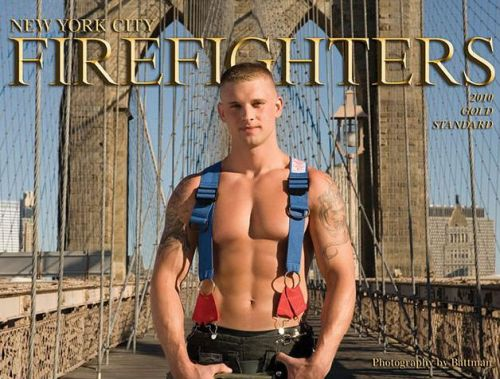 New York City Firefighters Calendar is Out! I had a rough day!