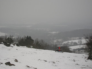 beacon hill in snow