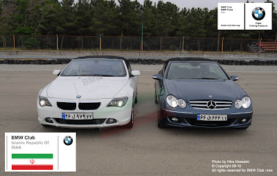 BMW 630i vs Mercedes Benz CLK 350