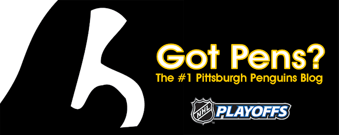 Got Pens? The #1 Pittsburgh Penguins Blog