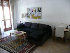 soggiorno con divano letto matrimoniale 1